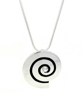 Snail Shell Fashion Pendant / Necklace